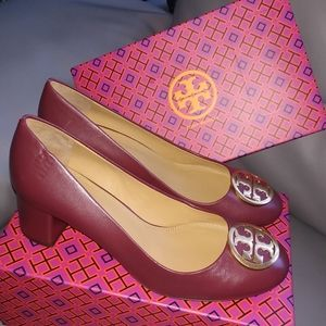 NEW Tory Burch 50mm Nappa Leather Pumps